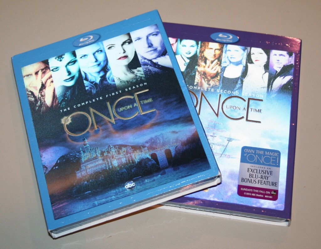Once Upon a Time Blu-rays