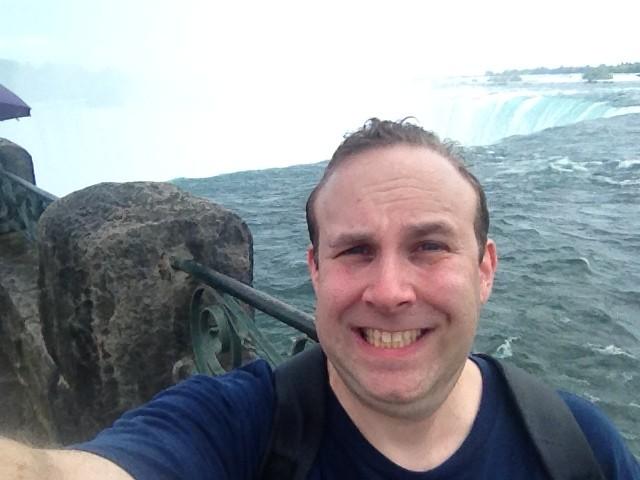 Niagara Falls selfie!