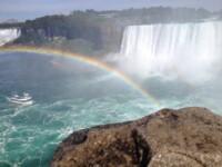 Niagara Falls Canada Rainbow
