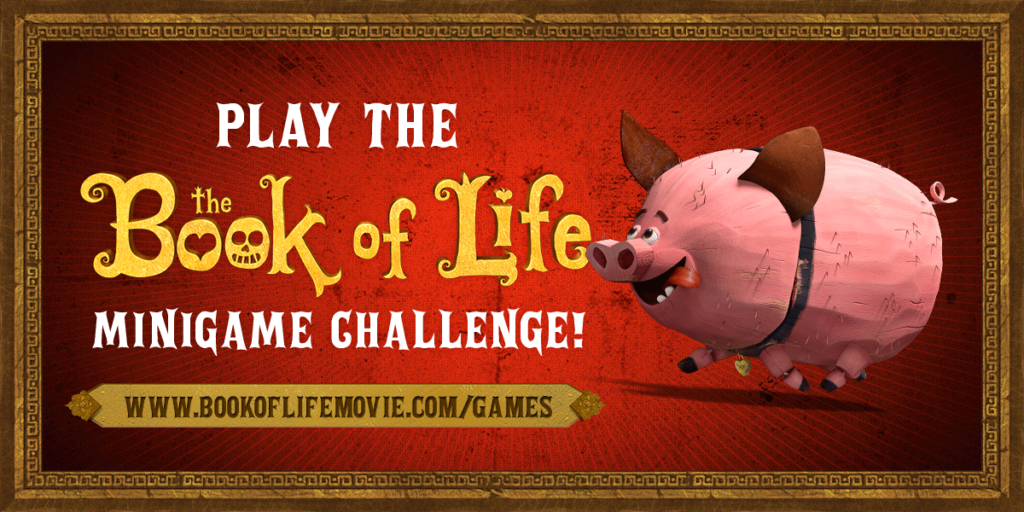 Book of Life minigames