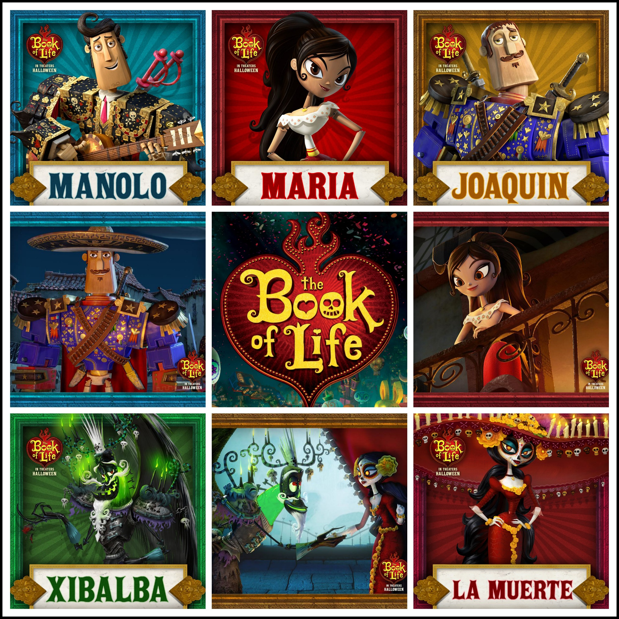 Book of life for coloring -  The Book Of Life Giveaway 50 Visa Gift Card Guitar More Ends