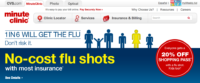 Minute Clinic flu shots