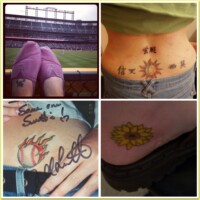 Katie's tattoos