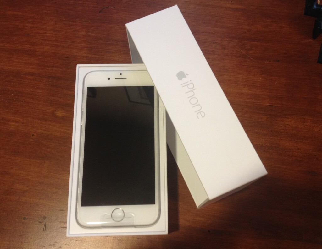 My new iPhone 6 that I may never get to use if Verizon has its way