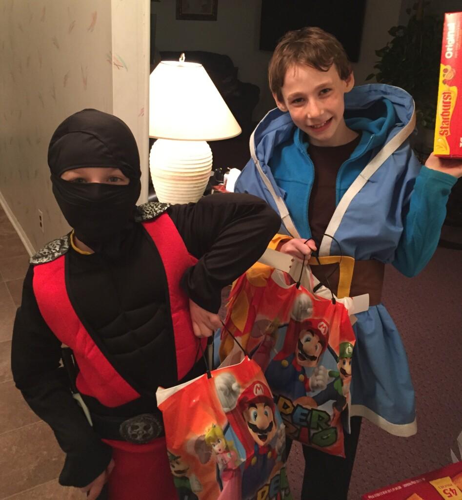 Ninja and Wizard