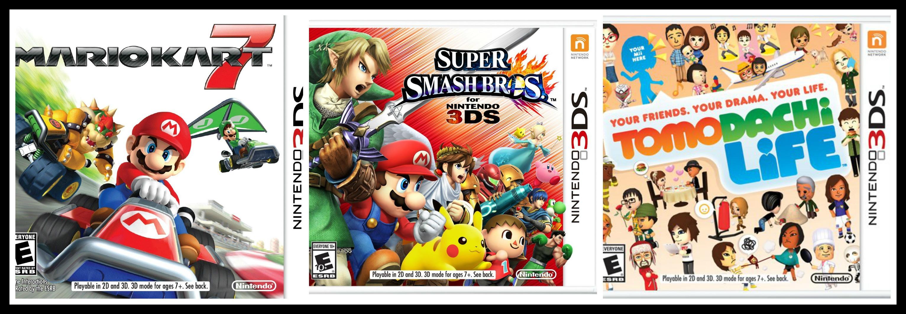 Nintendo 3ds Games For Boys Popular Nintendo 3ds Games