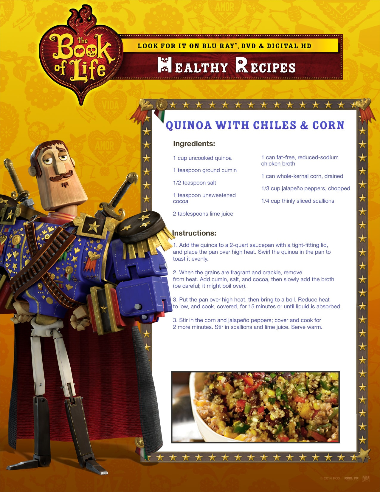 Book of life for coloring - Recipe 2
