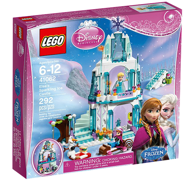 Frozen Lego Box
