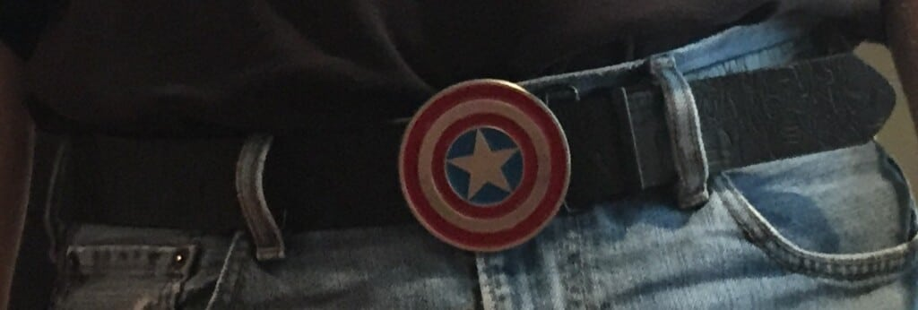 Captain America Shield belt