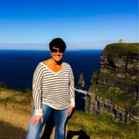 Tara in Ireland. (Lucky gal!)