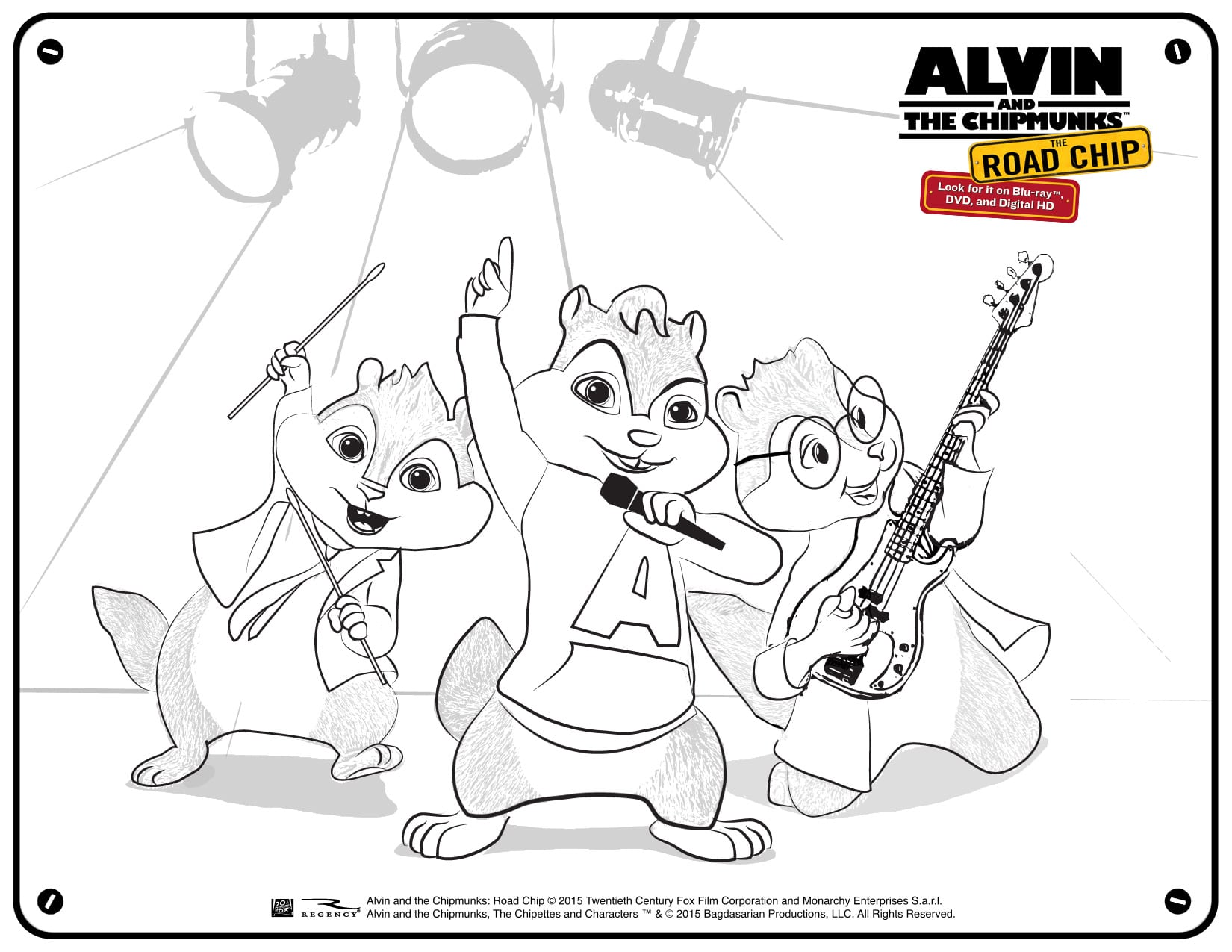 free alvin and the chipmunks coloring and activity pages mommy u0027s