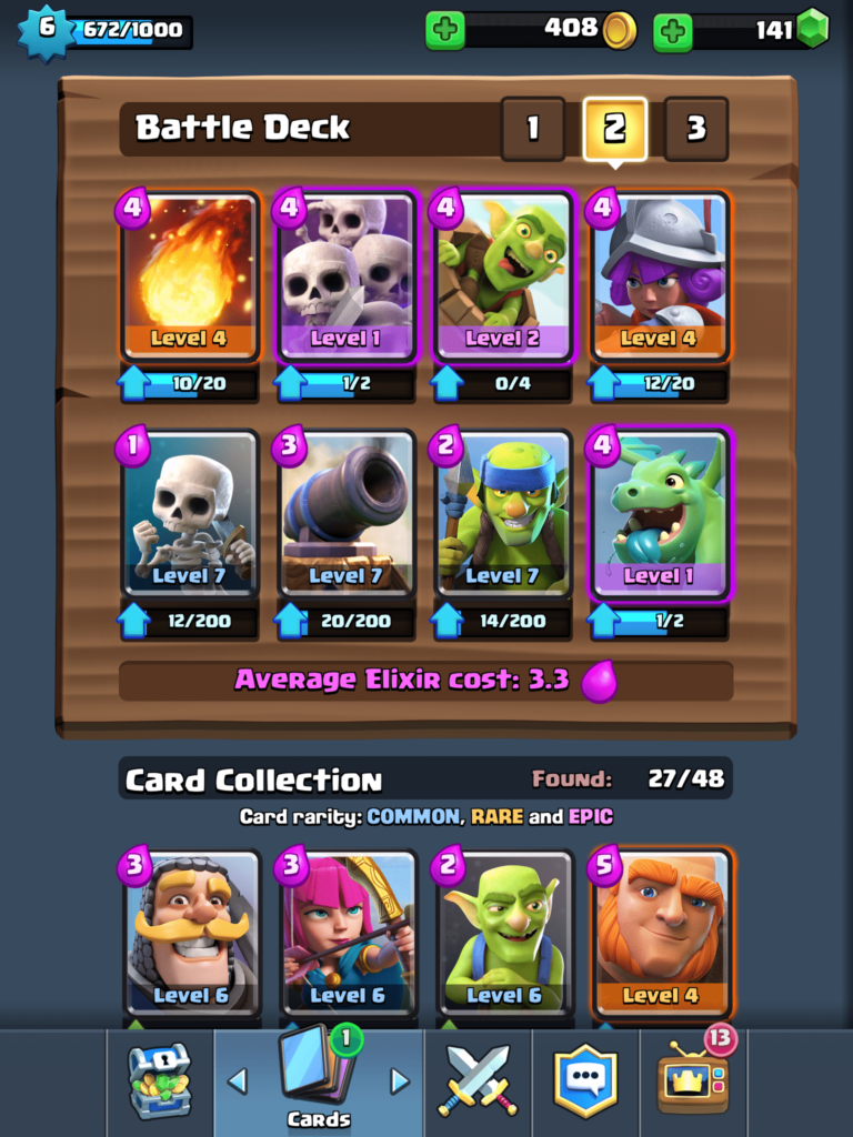 Clash Royale Cards