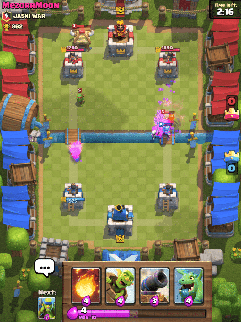 Clash Royale Battle