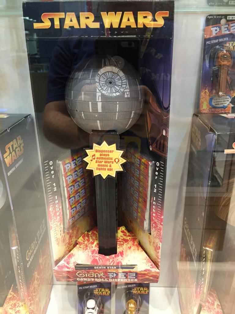 Star Wars Death Star PEZ