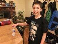 water bottle flipping