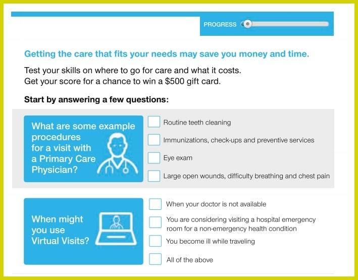 Quick Care Quiz UnitedHealthcare