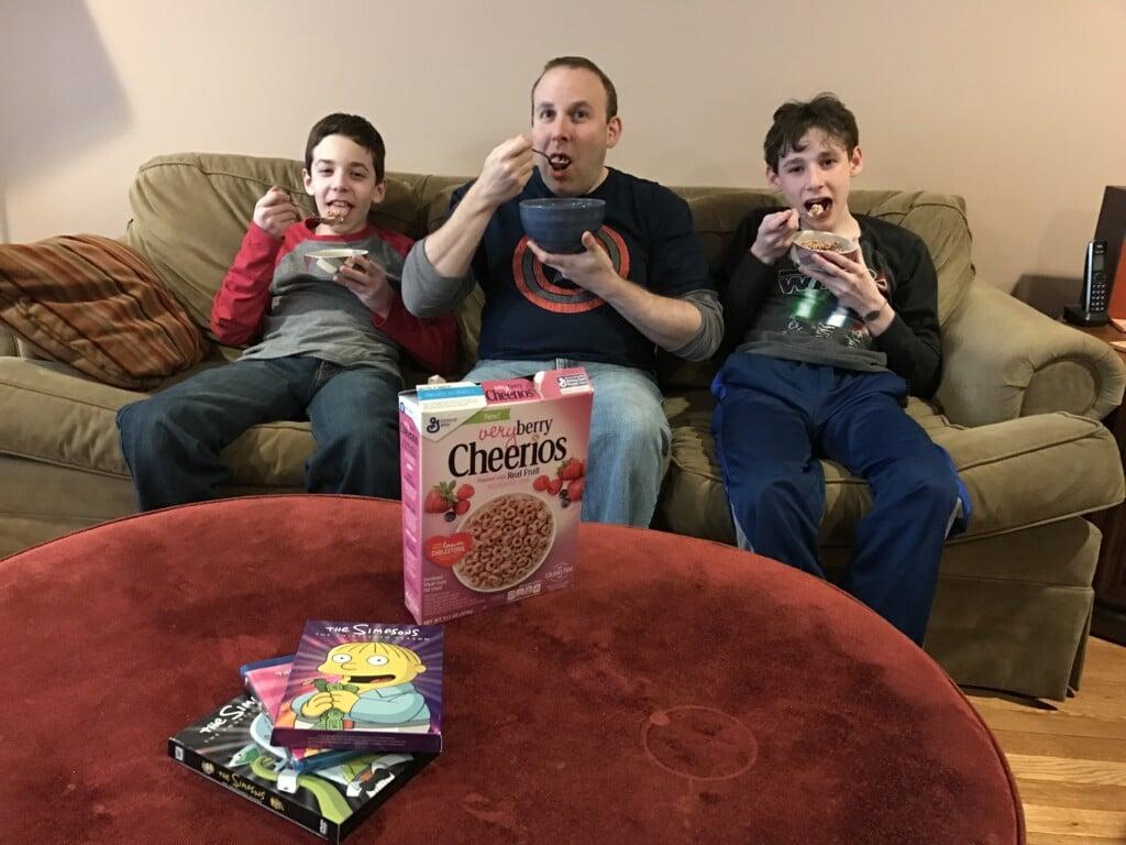 #berrieseverywhere bond cereal