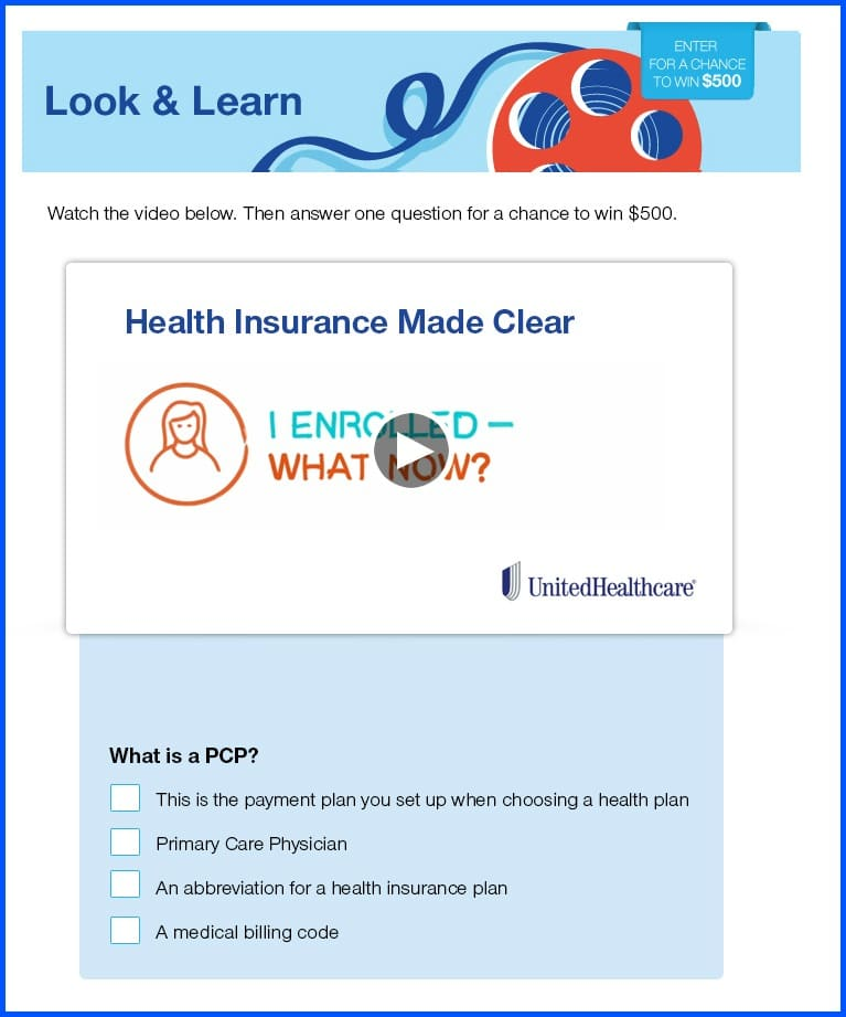 UnitedHealthcare health plan