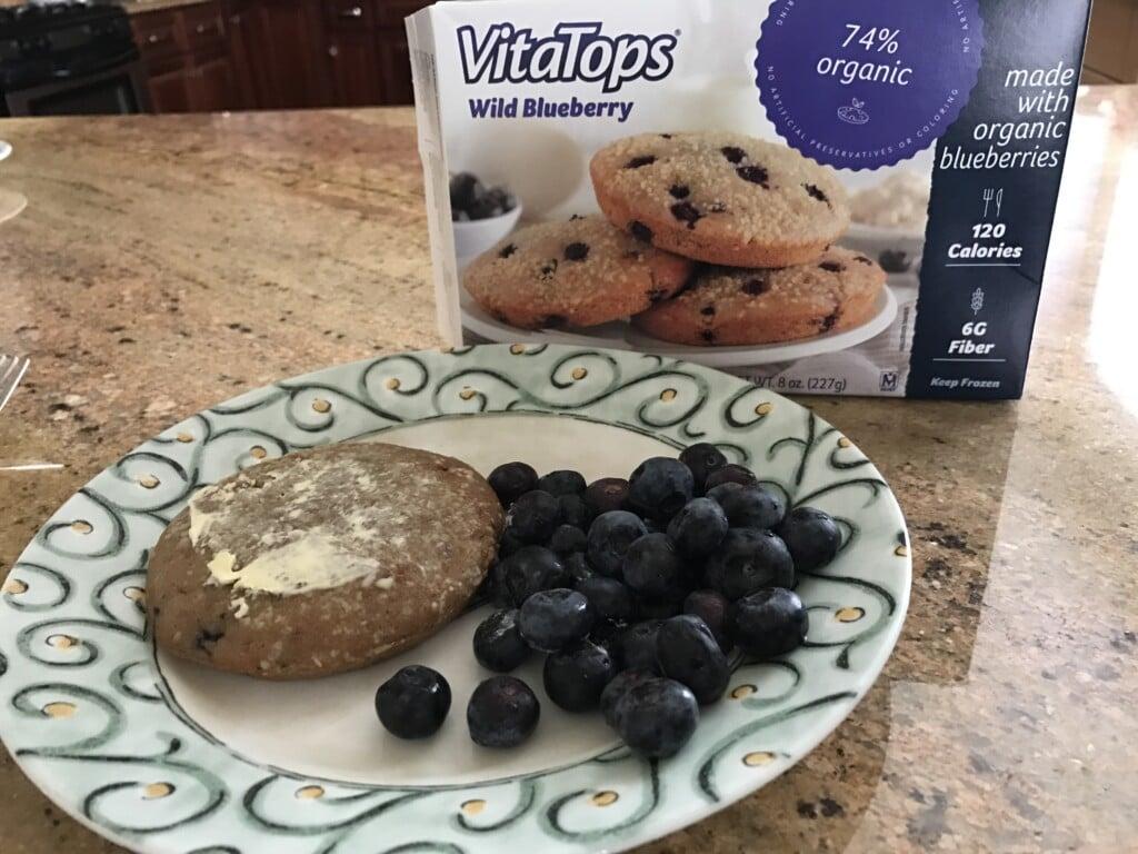 #VitaTops Wild Blueberry MuffinTops