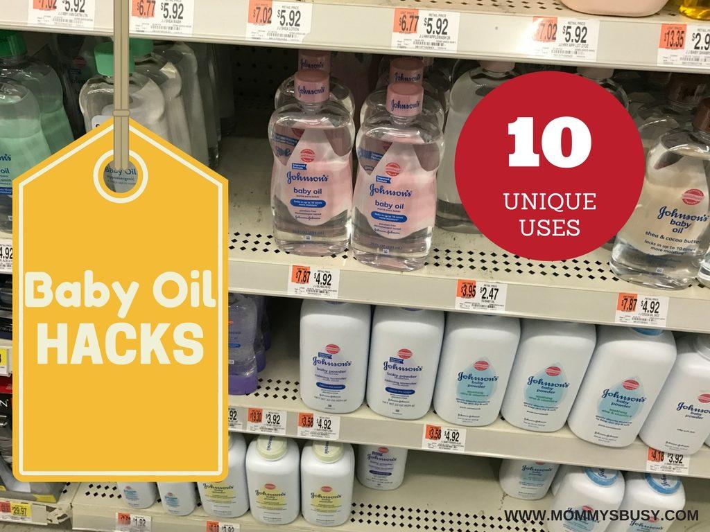 Baby Oil Hacks