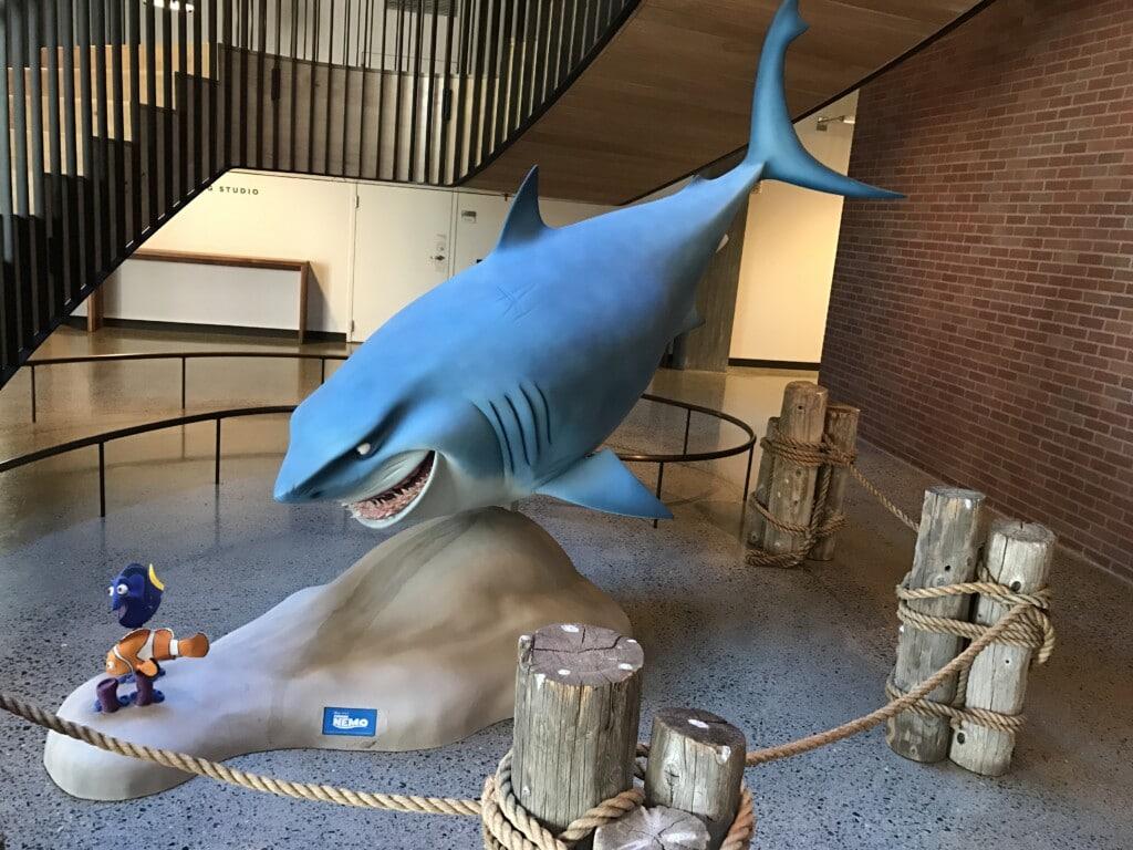 #Cars3Event Bruce Finding Nemo Pixar Studios