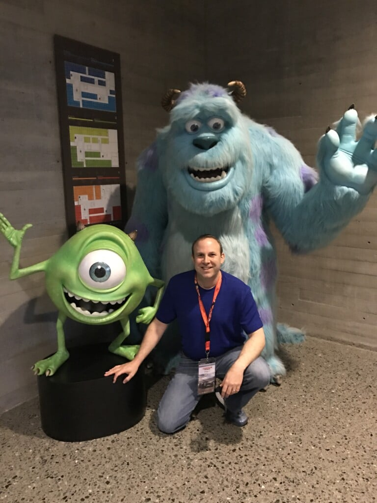 Monsters Inc. Mike Sully #Cars3Event