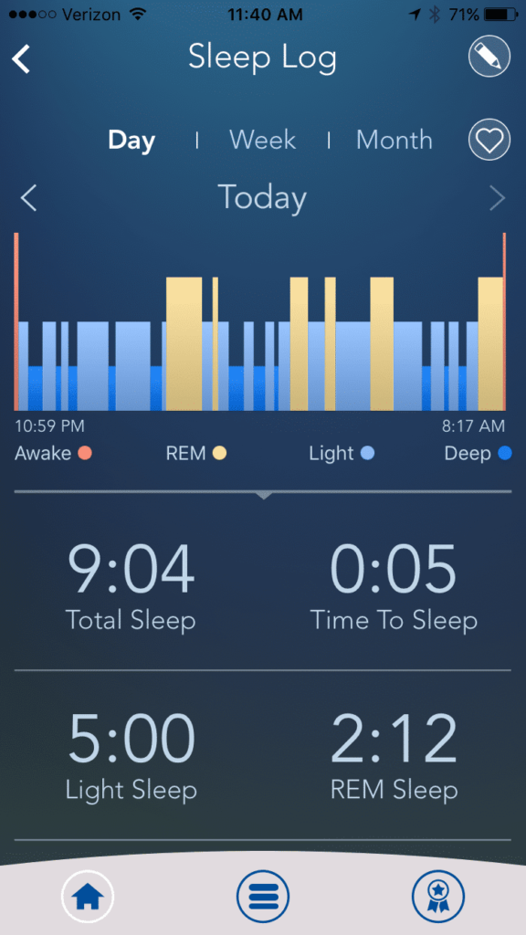 #ISleepTo #Sleeptracker