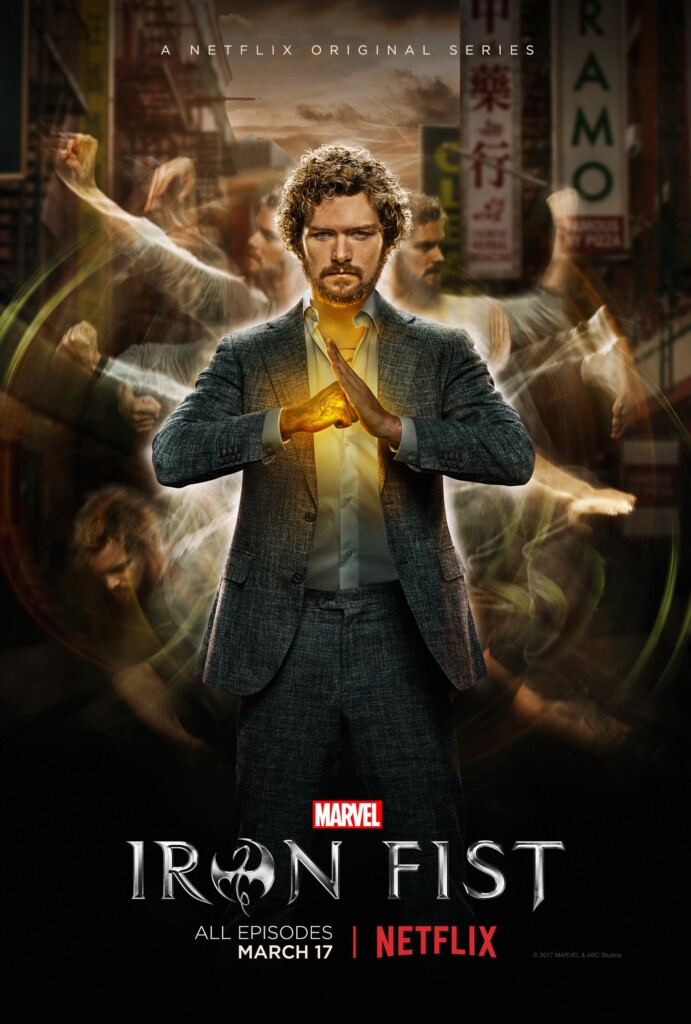 Netflix #StreamTeam Iron Fist