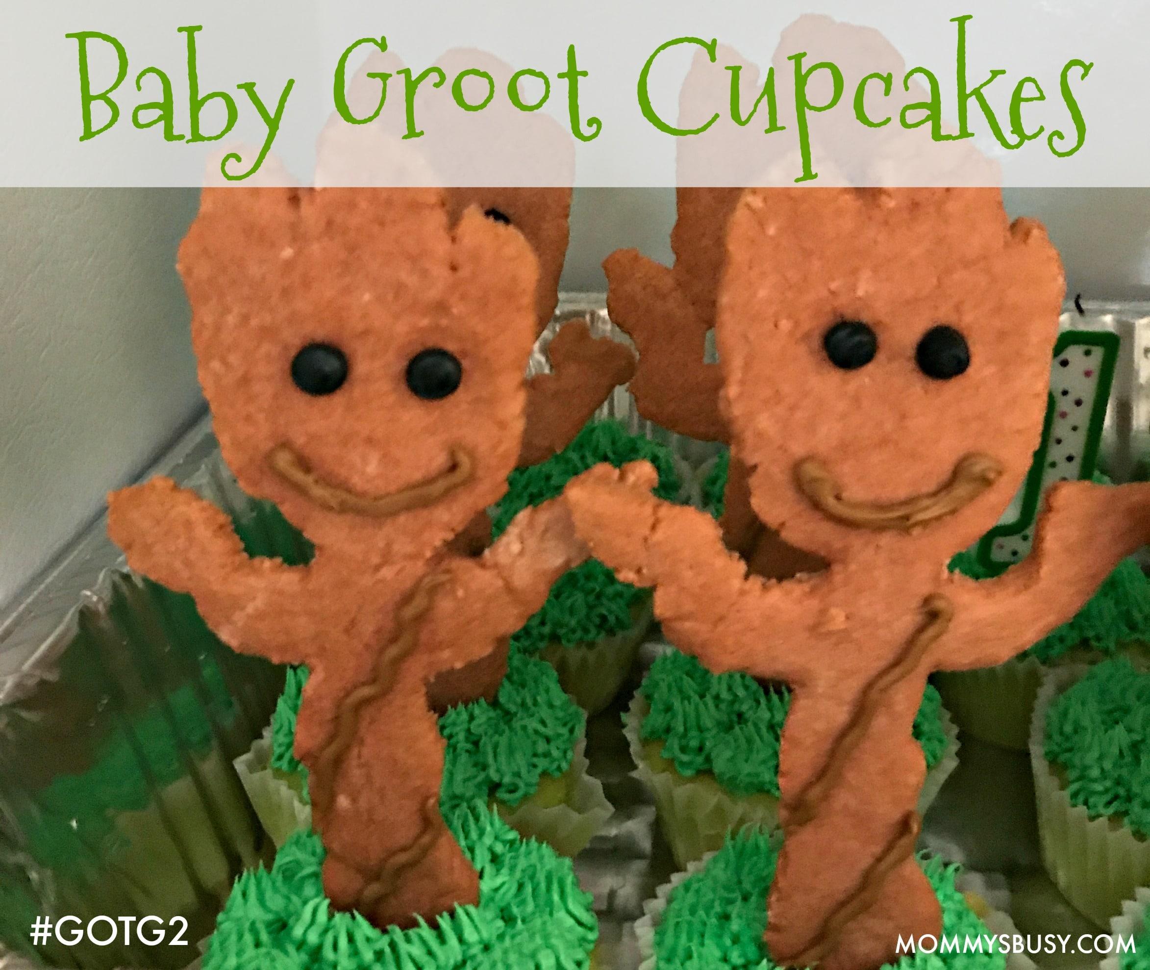 Baby Groot Cupcakes