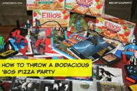#80sPizzaParty Ellio's Pizza