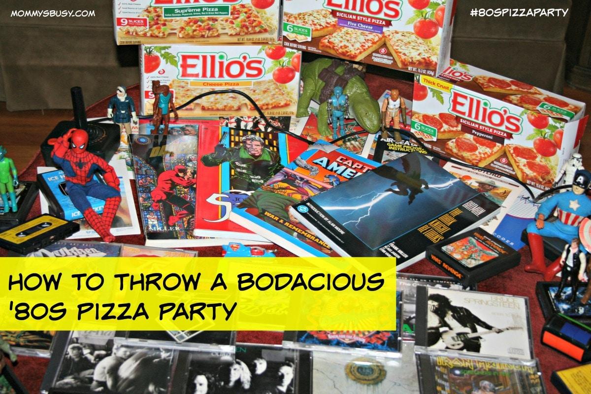 #80sPizzaParty Ellio's Pizza