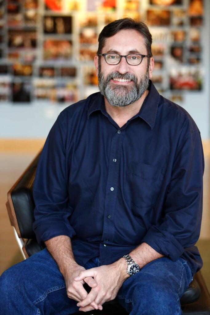 Bob Peterson is photographed on November 19, 2014 at Pixar Animation Studios in Emeryville, Calif. (Photo by Deborah Coleman / Pixar)