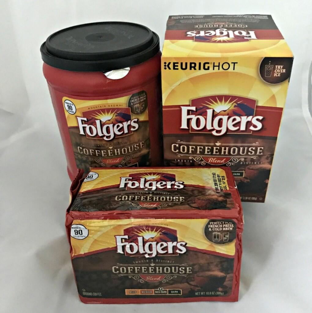coffee mug Folgers