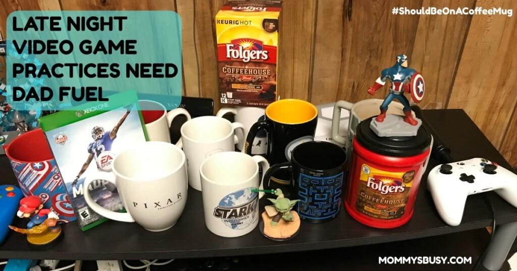 #ShouldBeOnACoffeeMug Folgers Coffee Mug