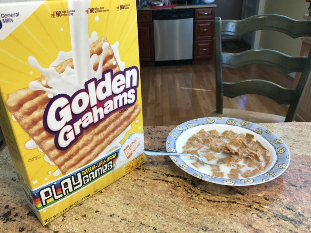 #GoldenGrahams