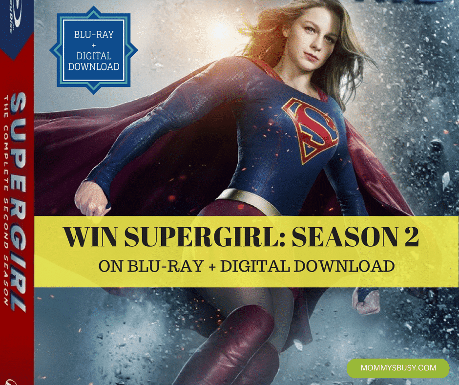Win Supergirl Season 2