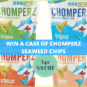 Win a Case of Chomperz Seaweed Snacks ($40 value)