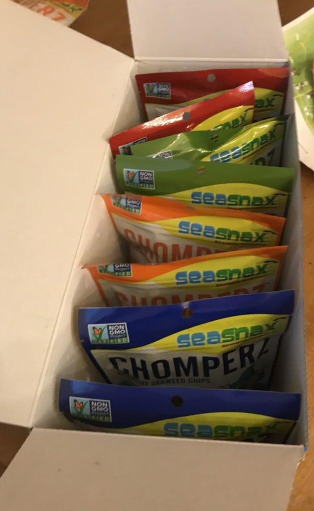 seaweed snacks Chomperz