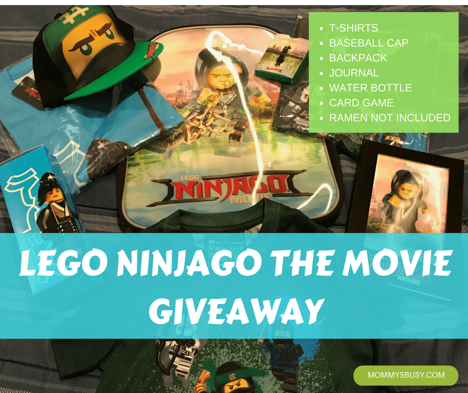 LEGO Ninjago the Movie Giveaway