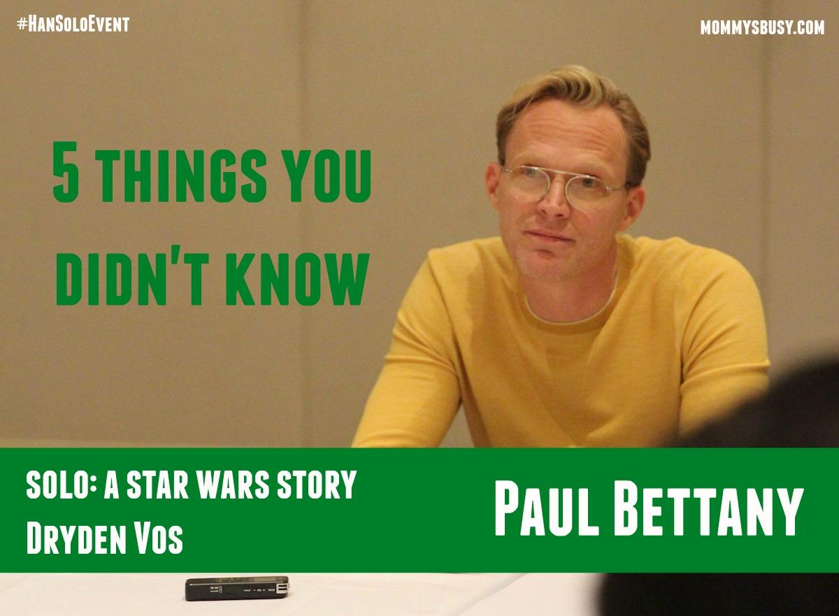 Paul Bettany SOLO #HanSoloEvent
