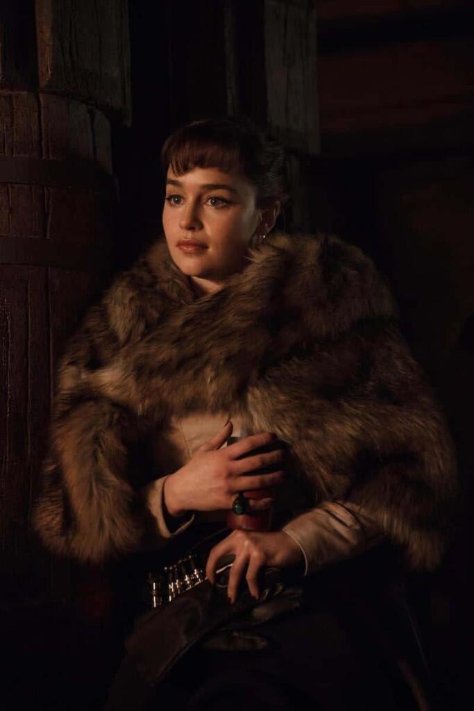 #HanSoloEvent SOLO Emilia Clarke