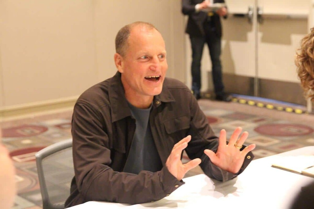 Woody Harrelson SOLO #HanSoloEvent