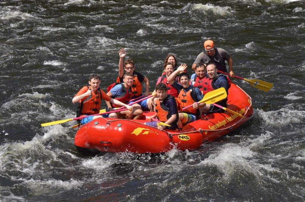 Lake George Rafting