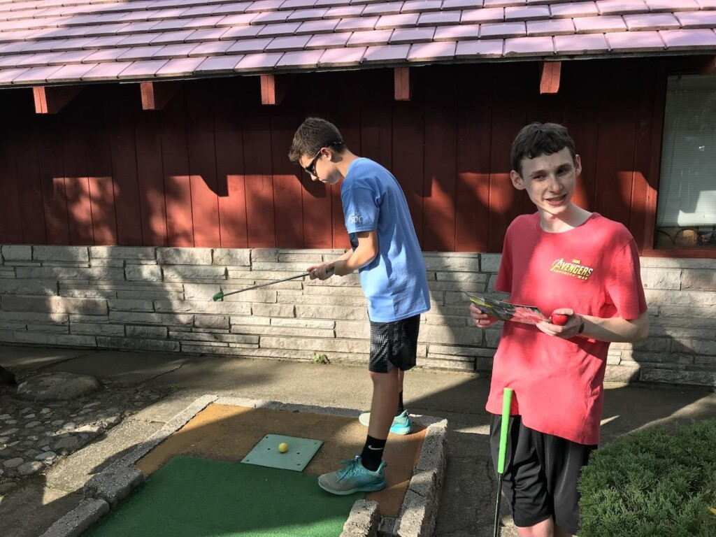 Lake George mini golf