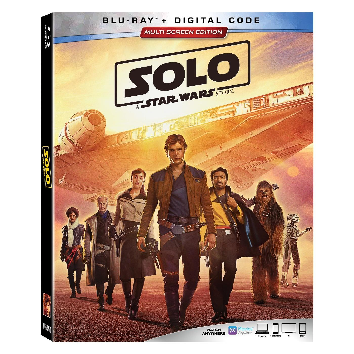 Win SOLO: A Star Wars Story Blu-ray/Digital Combo Edition - Mommy's