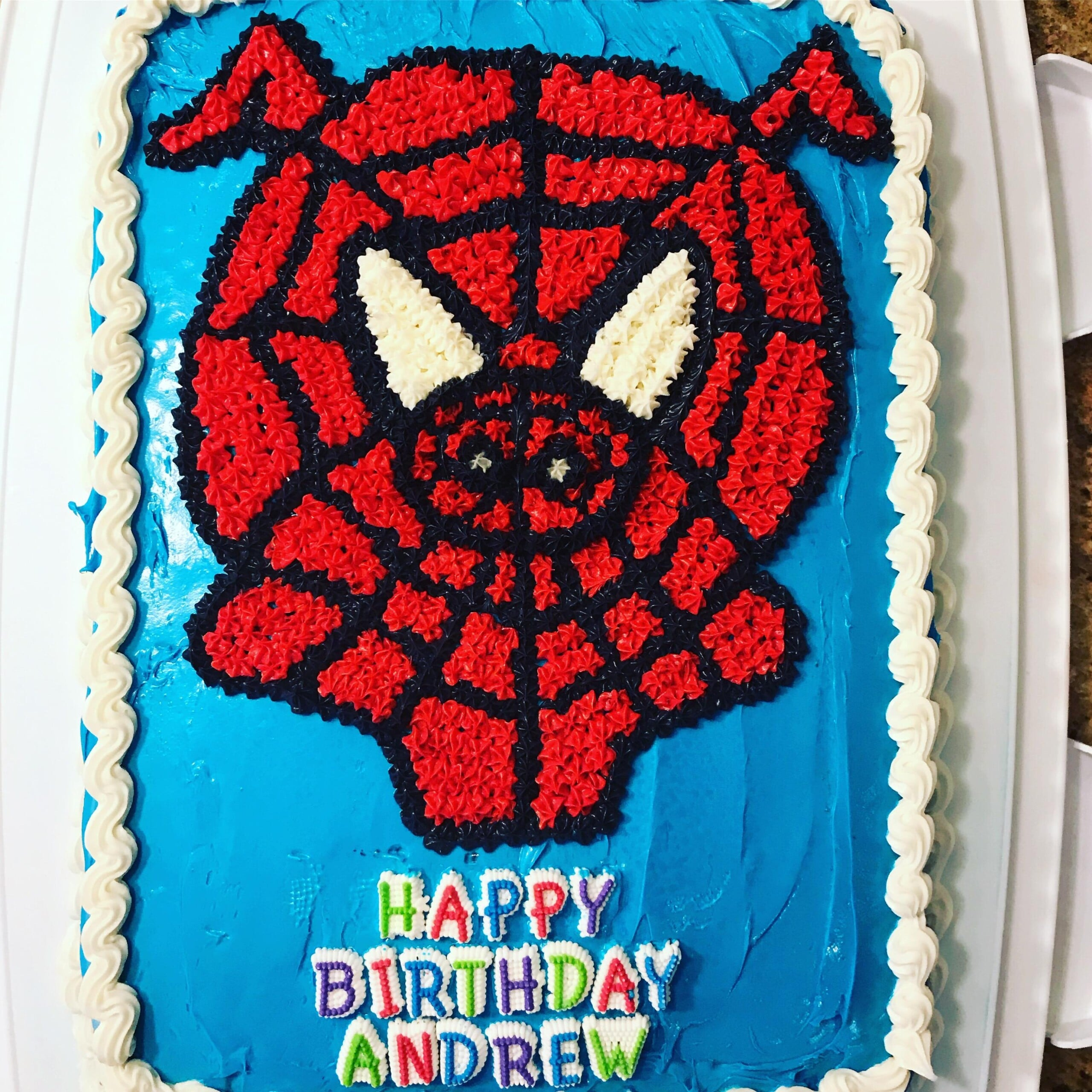 Spider-Ham Cake birthday