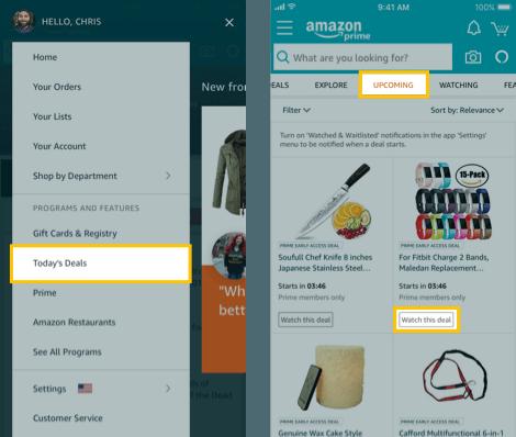 Amazon App Prime Day