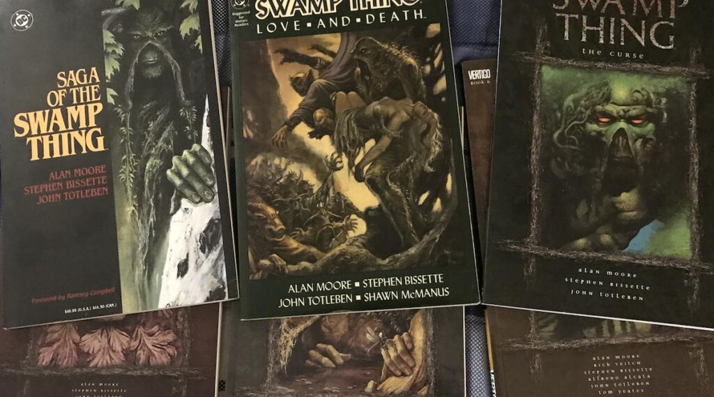 Saga of the Swamp Thing comics