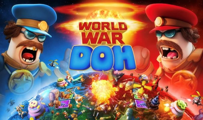 World War Doh Brings the Absurdity of Battle to Your Phone