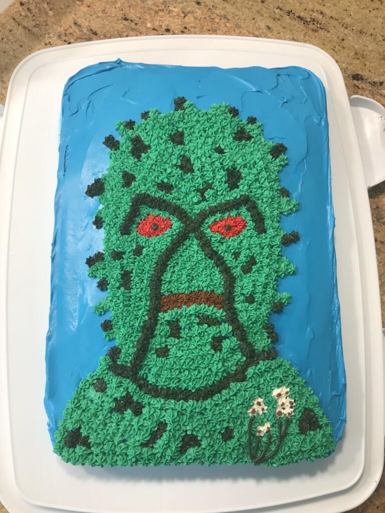 Swamp Thing cake